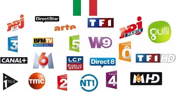 television francaise en italie