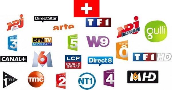 television francaise en suisse