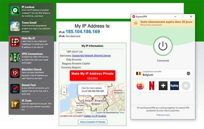 IP belge