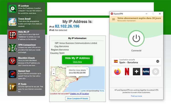 IP espagnole