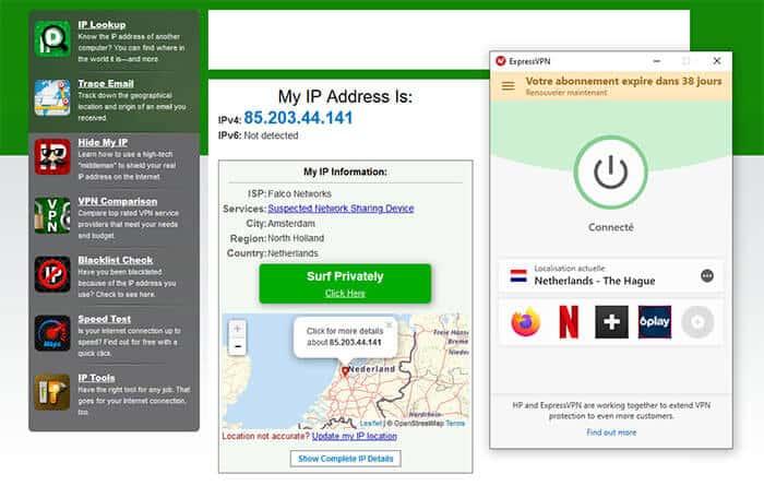 IP hollandaise