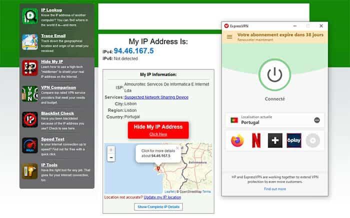 IP portugaise