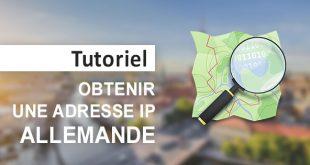 Obtenir IP allemande