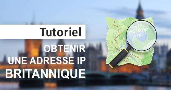 Obtenir IP anglaise