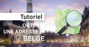 Obtenir IP belge