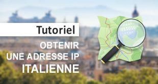 Obtenir IP italienne