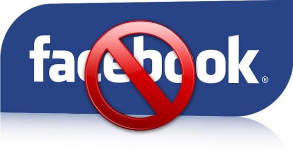 facebook a l'ecole ou au travail