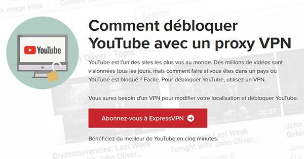 YouTube ExpressVPN