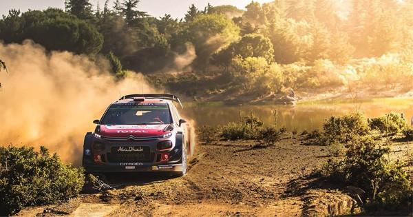 WRC streaming