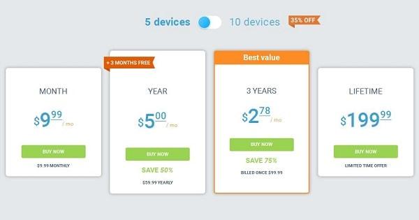 Avis VPN Unlimited