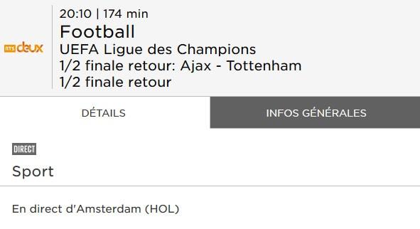 RTS Ajax Tottenham