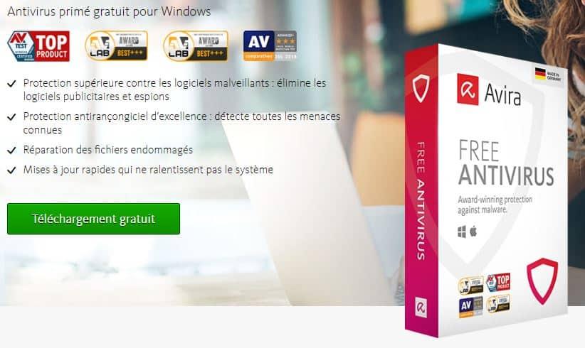 antivirus gratuit avira