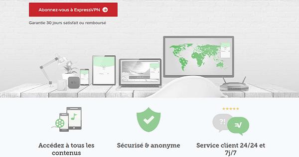 appareils compatibles expressvpn