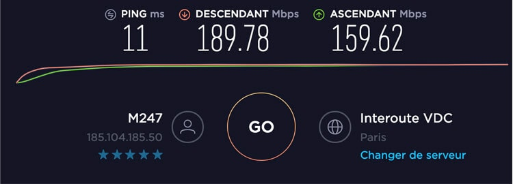 ExpressVPN-test-de-vitesse