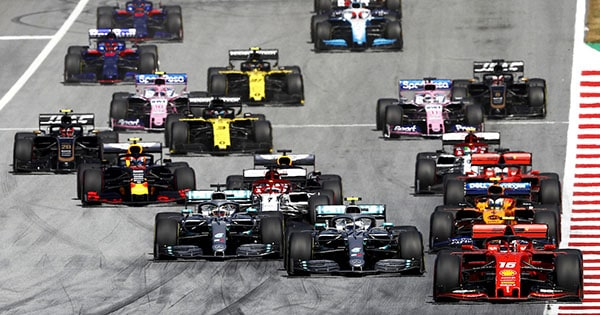 GP Grande Bretagne de F1