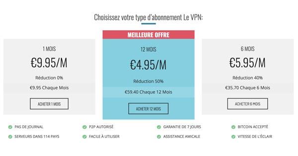 Tarifs-le-VPN