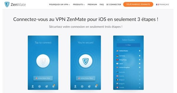 VPN-ios-Zenmate