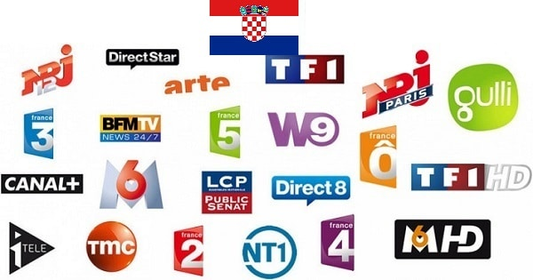 television francaise croatie