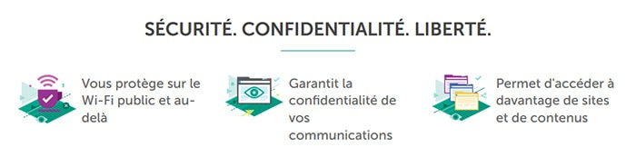 Sécurité Kaspersky VPN Secure Connection