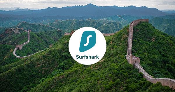 Surfshark Kína