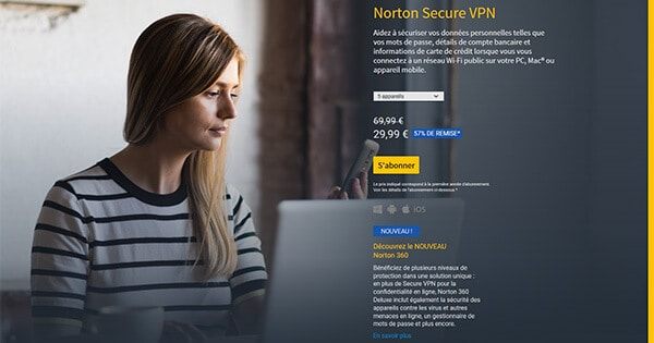 Avis Norton Secure VPN