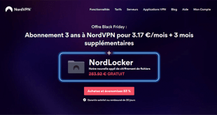 Promotion Black Friday de NordVPN