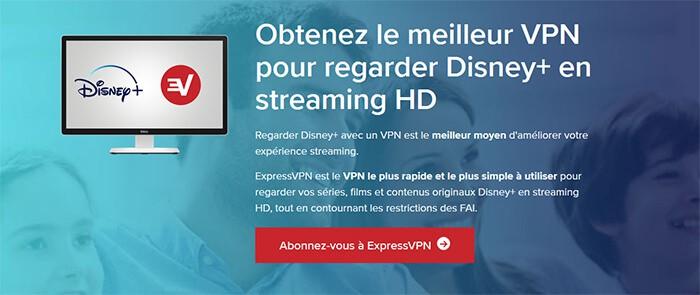 Disney+ avec ExpressVPN