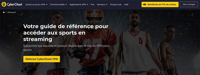 CyberGhost Sport Streaming