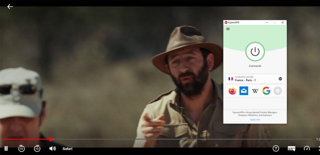 Déblocage Netflix France Safari