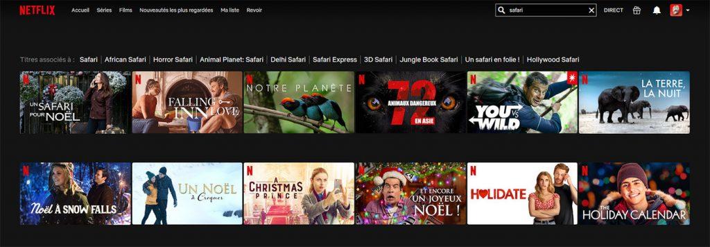 Netflix Belgique Film Safari