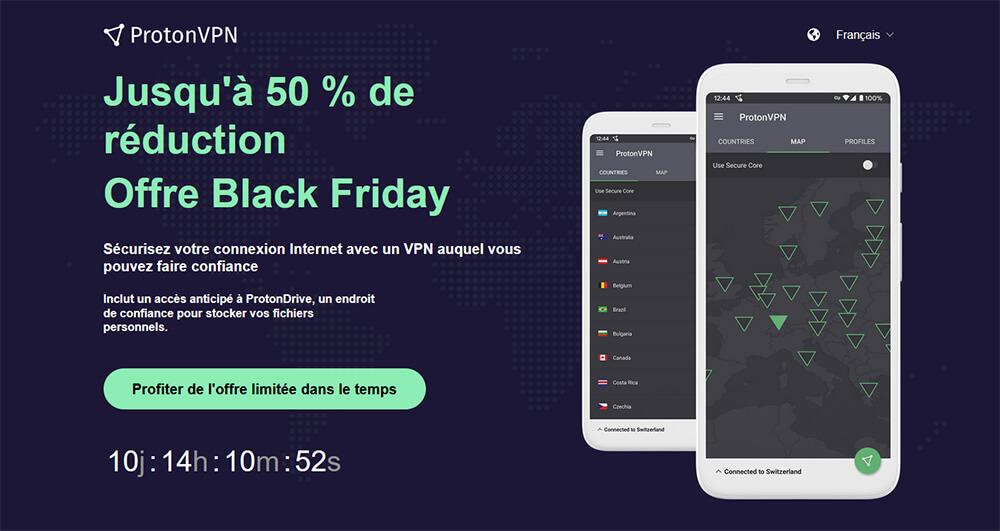 Black Friday Promotion ProtonVPN