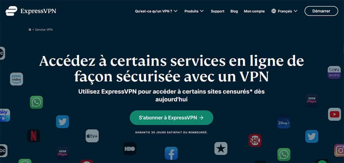ExpressVPN Déblocage Streaming