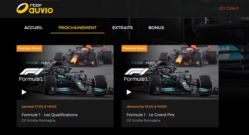 Programme TV RTBF F1 Emilie Romagne